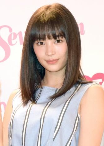 Seventeen』公式スマホアプリ「ST channel」概要発表記者会見に出席した広瀬すず (C)ORICON NewS inc.