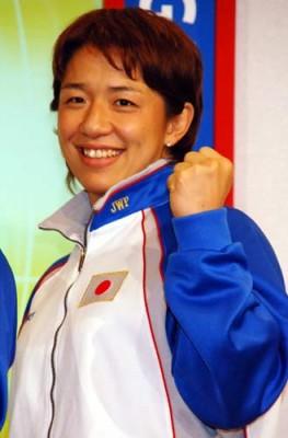 日本の女子レスリング界をけん引する浜口京子
