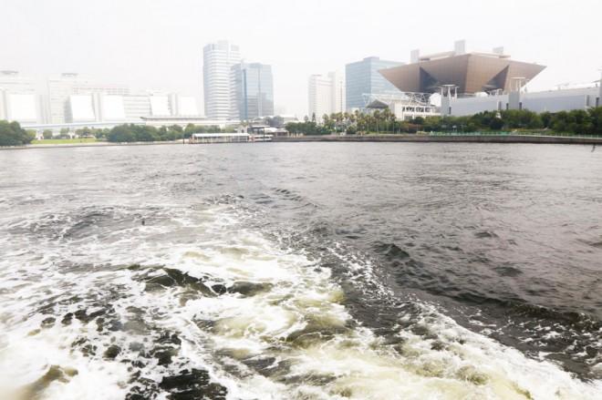 東京湾クルーズの景色