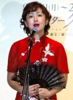 舞台『奇跡のメロディ』の制作発表会で歌声を披露した斉藤由貴 (C)ORICON DD inc.