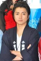 ドラマ『おじいちゃんは25歳』(TBS系)の記者会見に出席した藤原竜也 (C)ORICON DD inc.