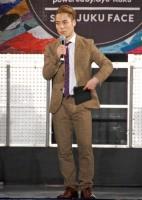大学生ダンサー応援イベント『SHINKAN FESTIVAL〜powered by Gyu-Kaku〜』でMCを務めたFISHBOY