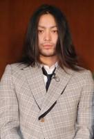 映画『鴨川ホルモー』の大ヒット祈願イベントに出席した俳優の山田孝之