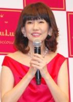 美容フェイスマスクブランド「LuLuLun」戦略発表会に登場した松本伊代(C)ORICON NewS inc.
