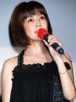 映画『伝染歌』の新旧アイドル最怖歌披露イベントで17年ぶりの歌声を披露した松本伊代 (C)ORICON DD inc.