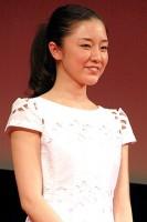 映画『GANTZ PERFECT ANSWER』ジャパンプレミアに参加した伊藤歩 (C)ORICON DD inc.