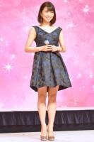 『映画 プリキュアオールスターズ みんなで歌う♪奇跡の魔法!』アフレコ&レコーディング取材を行った新妻聖子 (C)ORICON NewS inc.