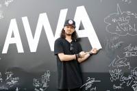 『ULTRA JAPAN 2016』のAWAブースに来場した、DJ YAMATO