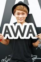 『ULTRA JAPAN 2016』のAWAブースに来場した広海