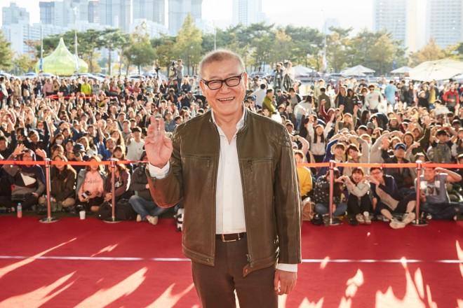 大勢の映画ファンがつめかけた國村隼の『哭声』トークイベント