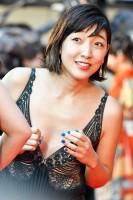 『第29回 東京国際映画祭』に登場した安藤サクラ