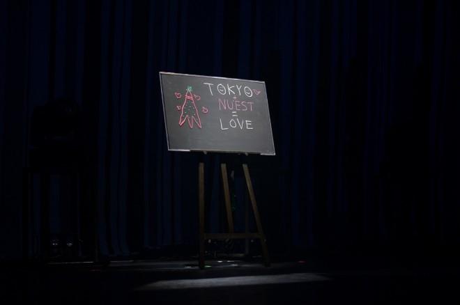 メンバーが直筆で書き込んだメッセージボード