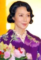 『近代能楽集』DVD製作発表記者会見に出席した中谷美紀 (C)ORICON NewS inc.