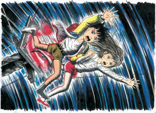 楳図かずお氏の独特な世界観が映る原画(C)Kazuo Umezz,Shogakukan