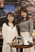 同業者でありライバル同士?初対談をした唐橋ユミと穂川果音(右)/写真:逢坂 聡