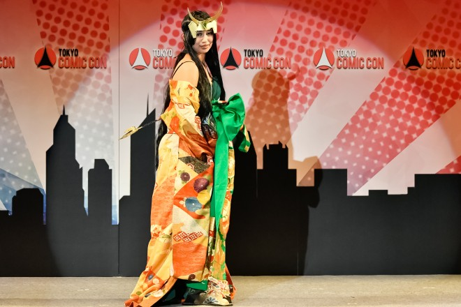 東京コミコンコスプレファッションショー2016