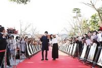京都のロケ地で行われたイベントの様子(C)2016「ぼくは明日、昨日のきみとデートする」製作委員会