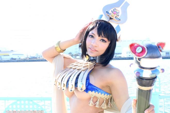 【コミケ91】パトリシアさん(『クイーンズブレイド』古代の王女メナス)