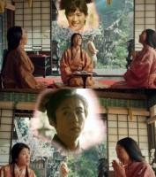 NHK大河ドラマ『おんな城主 直虎』のスペシャルムービー「女子会編」(C)NHK