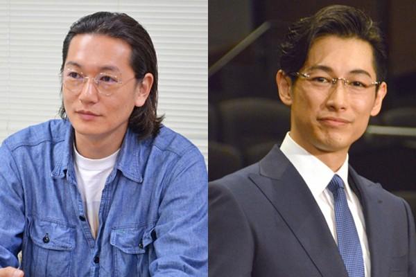 かつてのドラマ共演でも話題になっていた井浦新(左)とディーン・フジオカ
