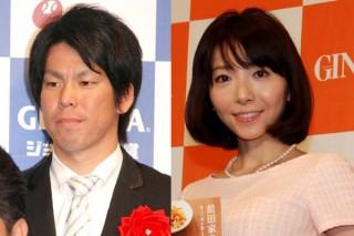 アメリカで活躍する前田健太選手(米ドジャース)と成嶋早穂(元東海テレビ)夫婦