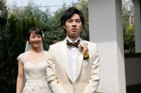 ゼクシィ9代目CMガールの吉岡里帆(左)と新郎役の戸塚純貴 (C)ORICON NewS inc.
