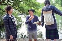 『ひるなかの流星』メイキングカット(C)2017 フジテレビジョン 東宝 集英社(C)やまもり三香/集英社