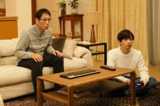 『ファイナルファンタジーXIV 光のお父さん』で親子役を演じる大杉漣と千葉雄大