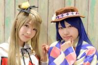 『AnimeJapan 2017』コスプレイヤー・神園雫さん / 星園彗月さん