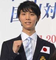羽生結弦選手『世界フィギュアスケート国別対抗戦2017』日本代表選手発表・記者会見