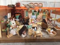「シルバニアファミリー展 わくわくミュージアム2017 in横浜人形の家」ドールハウス作家・工藤和代氏がアレンジした作品