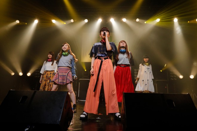 Little Glee Monster『oricon Sound Blowin'2017〜spring〜』