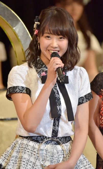 『第9回AKB48選抜総選挙』33位 加藤夕夏