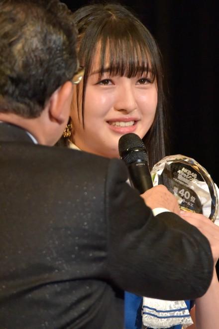 『第9回AKB48選抜総選挙』40位 田島芽瑠