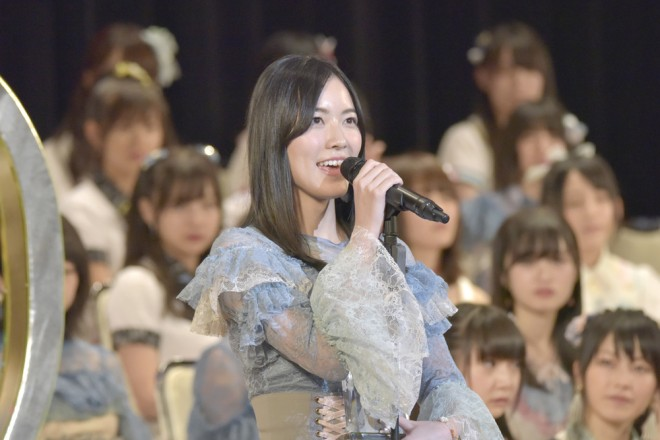 『第9回AKB48選抜総選挙』3位 松井珠理奈
