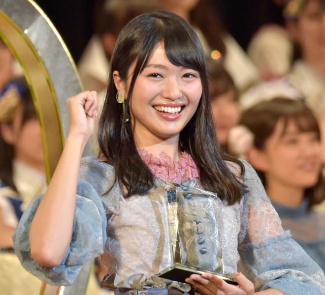 『第9回AKB48選抜総選挙』10位 北原里英