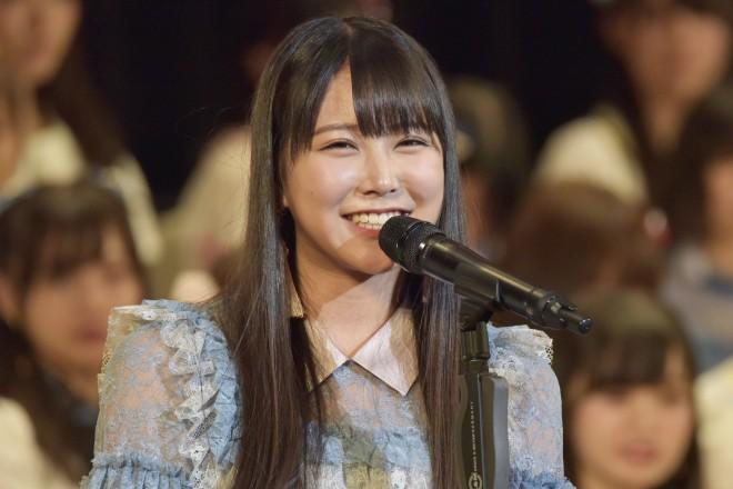 『第9回AKB48選抜総選挙』12位 白間美瑠