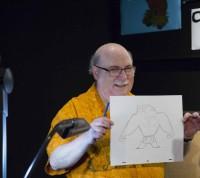 手描きアニメーション スーパーバイザーのエリック・ゴールドバーグ氏/アニメーション・リサーチ・ライブラリー