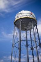 いまは使われていない給水塔。象徴的な建物になっている/大学キャンパスのようなウォルト・ディズニー・スタジオ