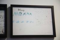 ファンからの手紙も掲示されている/ウォルト・ディズニー・アニメーション・スタジオ