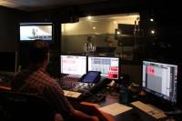 ウォルト・ディズニー・アニメーション・スタジオ内のレコーディング・スタジオ。『モアナと伝説の海』はこのスタジオで収録された