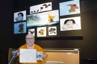 『モアナと伝説の海』のマウイを描いた手描きアニメーターのエリック・ゴールドバーグ氏