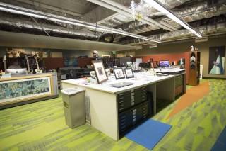 ARL・デザインチームのオフィス
