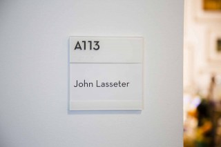 ディズニー・アニメーション・スタジオのジョン・ラセターのオフィス