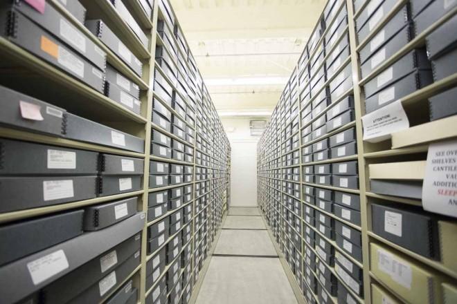 貴重なオリジナルのペーパーアートワークが保存されているヴォルト/アニメーション・リサーチ・ライブラリー