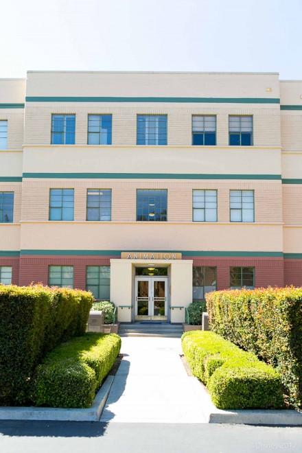 アニメーションビルには、かつてのウォルト・ディズニーのオフィスが再現されている/ウォルト・ディズニー・スタジオ