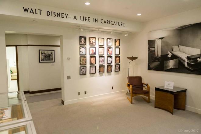ウォルト・ディズニーの復元さらたオフィスの入口/ウォルト・ディズニー・スタジオ