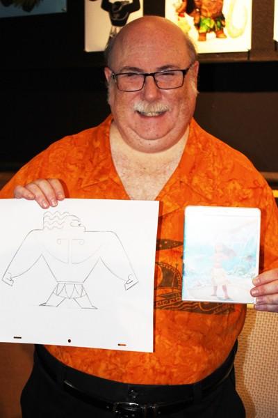 手描きアニメーション スーパーバイザーのエリック・ゴールドバーグ氏