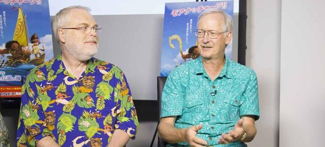 ロン・クレメンツ監督とジョン・マスカー監督(右)