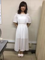 【工藤あやの】私服として購入したワンピース。結局はステージ衣装に(笑)